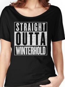Adventurer with Attitude: Winterhold Women's Relaxed Fit T-Shirt