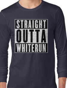 Adventurer with Attitude: Whiterun Long Sleeve T-Shirt