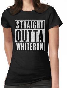 Adventurer with Attitude: Whiterun Womens Fitted T-Shirt