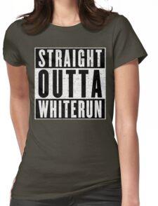 Adventurer with Attitude: Whiterun Womens Fitted T-Shirt