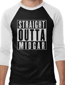 Midgar Represent! Men's Baseball ¾ T-Shirt