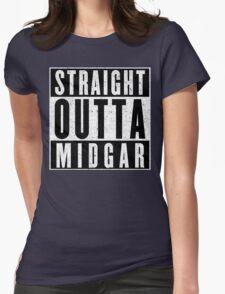 Midgar Represent! Womens Fitted T-Shirt