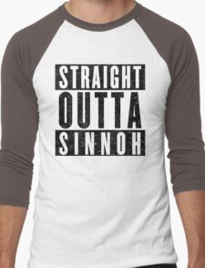 Trainer with Attitude: Sinnoh Men's Baseball ¾ T-Shirt