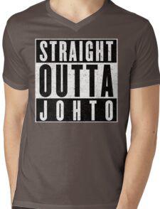 Trainer with Attitude: Johto Mens V-Neck T-Shirt