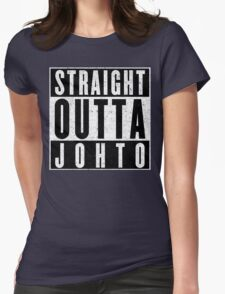Trainer with Attitude: Johto Womens Fitted T-Shirt