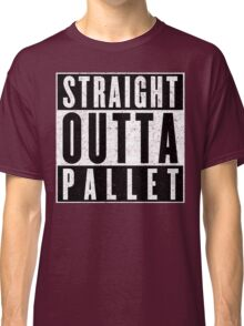 Trainer with Attitude: Pallet Town Classic T-Shirt