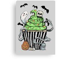 Gothic Cupcake  Canvas Print