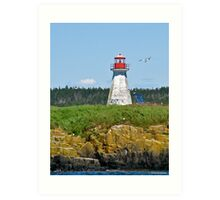 Peter Island Lighthouse Art Print