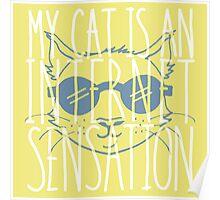 My Cat is an Internet Sensation Poster