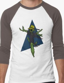 Cactus Scarecrow Men's Baseball ¾ T-Shirt