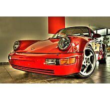 Porsche Turbo  Photographic Print