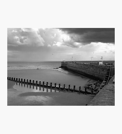 Bridlington Breakwater Photographic Print