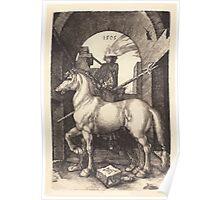 Albrecht Dürer or Durer Small Horse Poster