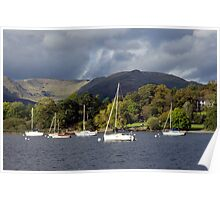 Lake Windemere view Poster