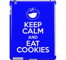 Keep Calm and Eat Cookies iPad Case/Skin