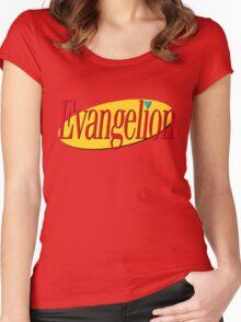 Neon Genesis Seinfeldgelion Women's Fitted Scoop T-Shirt