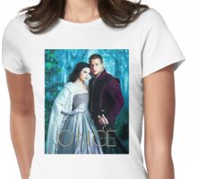 Snow and Charming Comic Poster Version 1 Womens Fitted T-Shirt
