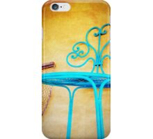 iPhoneography: Teal Chair iPhone Case/Skin