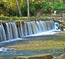 Antietam Creek Waterfall by James Brotherton
