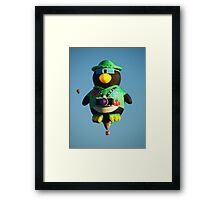 Camera Penguin !  Framed Print