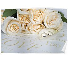 Wedding Petals Poster
