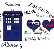 Doctor Who Words  by Heather Kean