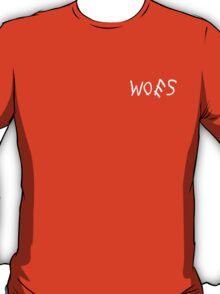 Woes Black T-Shirt