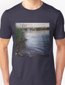 Rivers Edge View of White Bridge T-Shirt