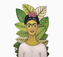 frida kahlo young and happy Unisex T-Shirt