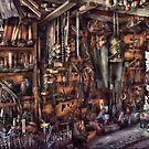 Carpenter - That's a lot of tools  by Mike  Savad
