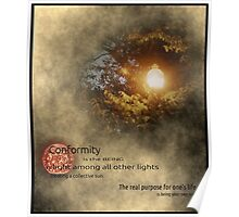 Being a Lone Light is the key.. Poster