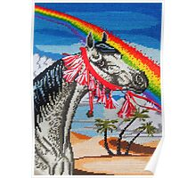 Arabian Needlepoint, With Tassels Poster