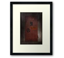 X-Files Krycek missile silo Framed Print