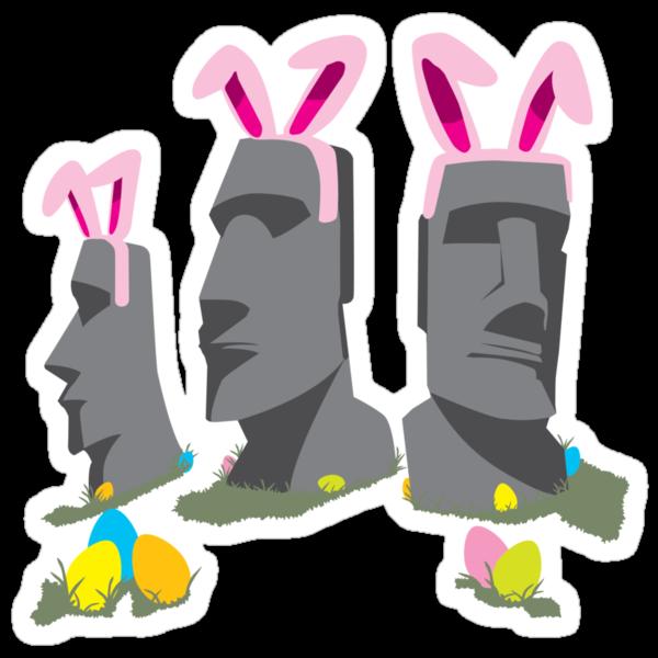Easter Island by DetourShirts