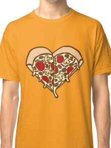 Pizza Heart Classic T-Shirt