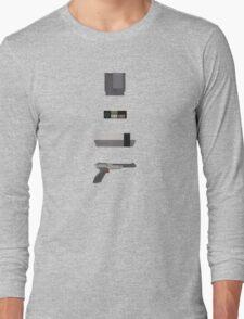8-Bit love (NES) Long Sleeve T-Shirt