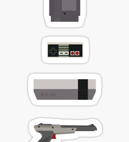 8-Bit love (NES) Sticker