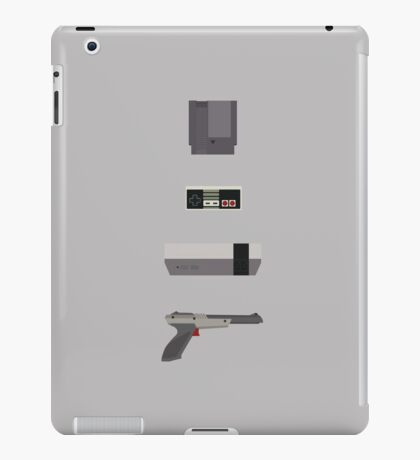 8-Bit love (NES) iPad Case/Skin