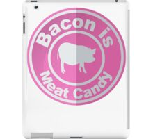 Bacon Is Meat Candy Pig iPad Case/Skin