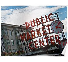 Pike St. Market Poster