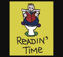 Readin' Time (light background) by Margaret Bryant