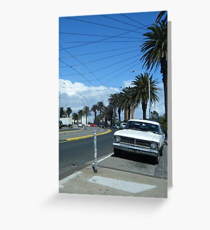 Melbourne Street Greeting Card