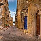 Madona & Child Mdina Malta by Edwin  Catania