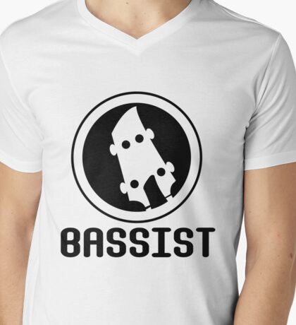 Bassist Mens V-Neck T-Shirt