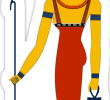 Neith with Red Crown | Egyptian Gods, Goddesses, and Deities Sticker
