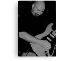 Rockin Out B&W Canvas Print