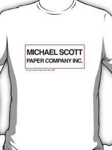 Michael Scott Paper Company T-Shirt