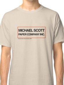 Michael Scott Paper Company Classic T-Shirt
