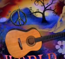 Woodstock World Sticker