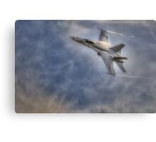 FA-18 Hornet - Swiss Air Force Canvas Print